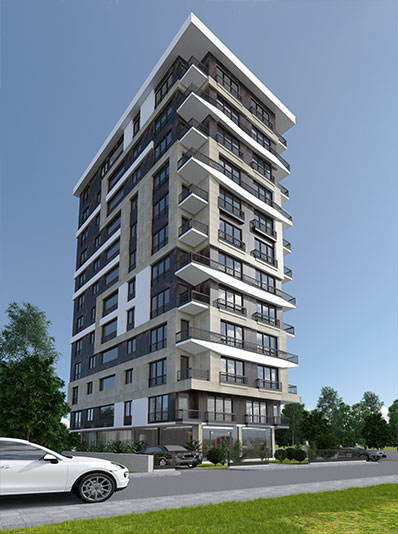 HAMDİ BEY APARTMENT <br> <br>  Residential